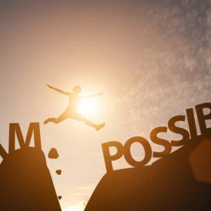 ポジティブな恐怖心を使うと目標は必ず達成することができる